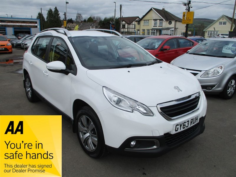used Peugeot 2008 HDI ACTIVE in gwent