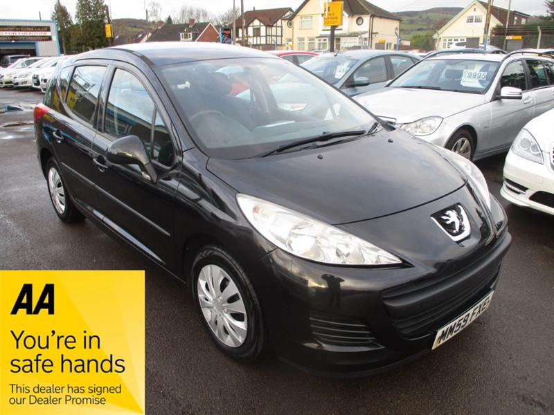 used Peugeot 207 SW S in gwent