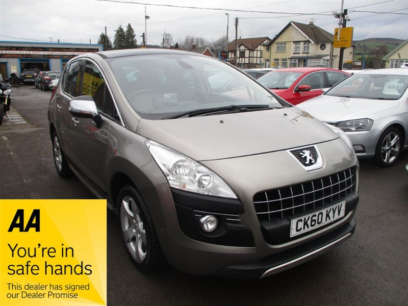 used Peugeot 3008 EXCLUSIVE HDI in gwent