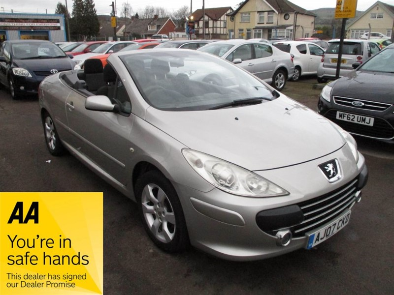 used Peugeot 307 S COUPE CABRIOLET in gwent