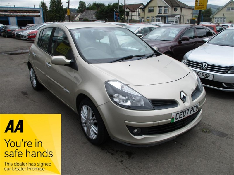 used Renault Clio INITIALE DCI in gwent