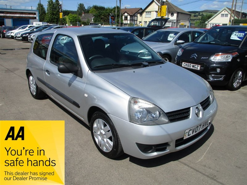used Renault Clio CAMPUS 8V in gwent