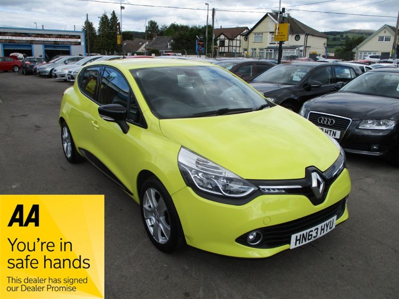 used Renault Clio DYNAMIQUE MEDIANAV in gwent