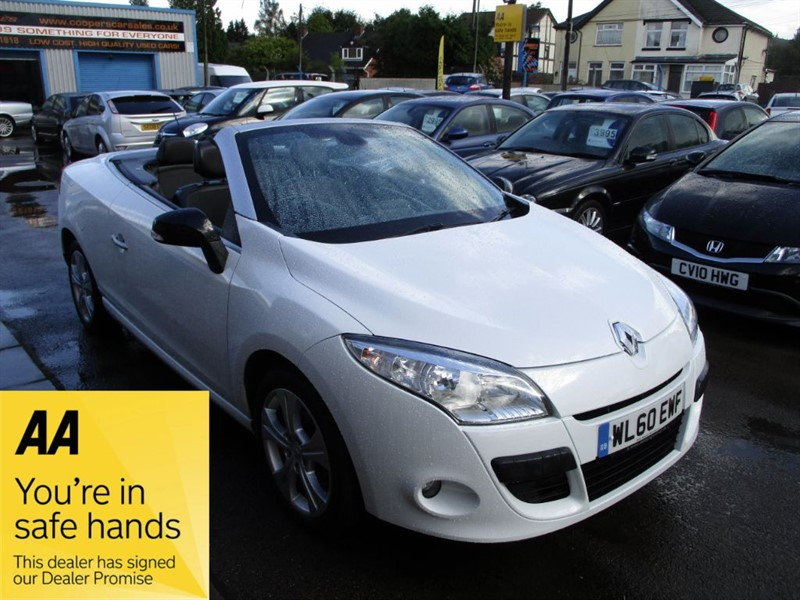 used Renault Megane DYNAMIQUE TOMTOM DCI FAP in gwent