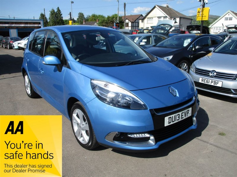 used Renault Scenic DYNAMIQUE TOMTOM DCI in gwent