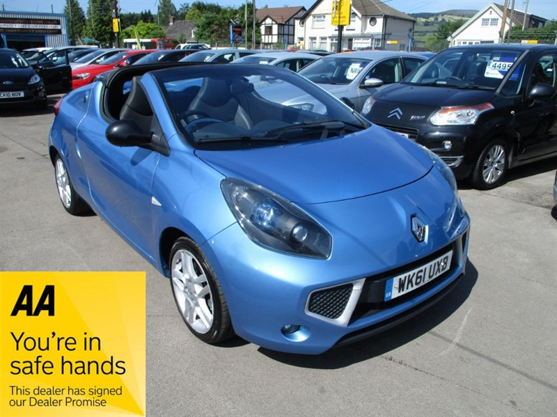 used Renault Wind ROADSTER DYNAMIQUE TCE in gwent