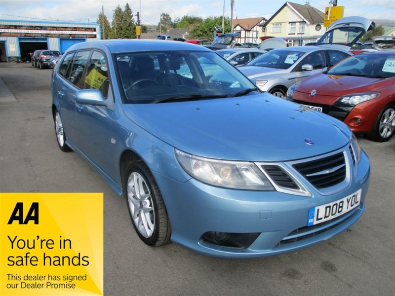 used Saab 9-3 DT VECTOR SPORT in gwent