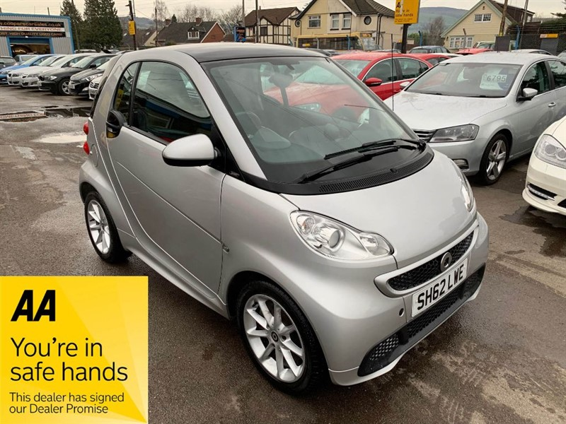 used Smart Car Fortwo Coupe PASSION MHD in gwent