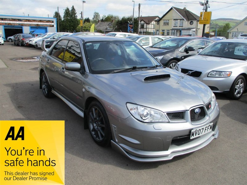 used Subaru Impreza WRX STI TYPE UK in gwent