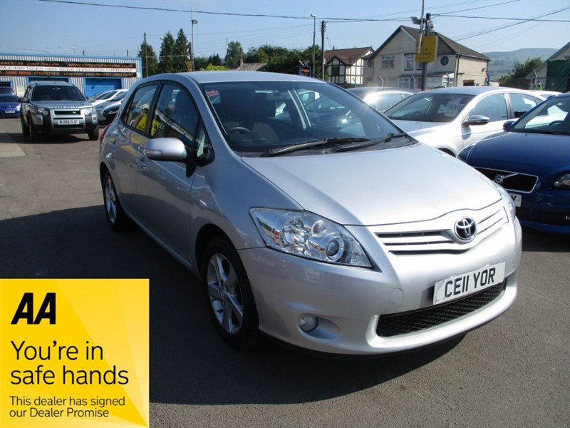 used Toyota Auris TR VVT-I in gwent