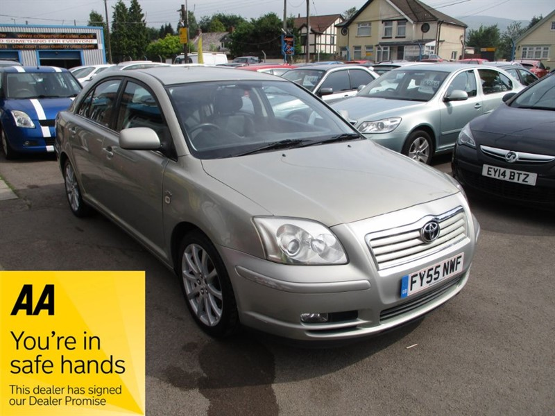 used Toyota Avensis T SPIRIT D-4D in gwent