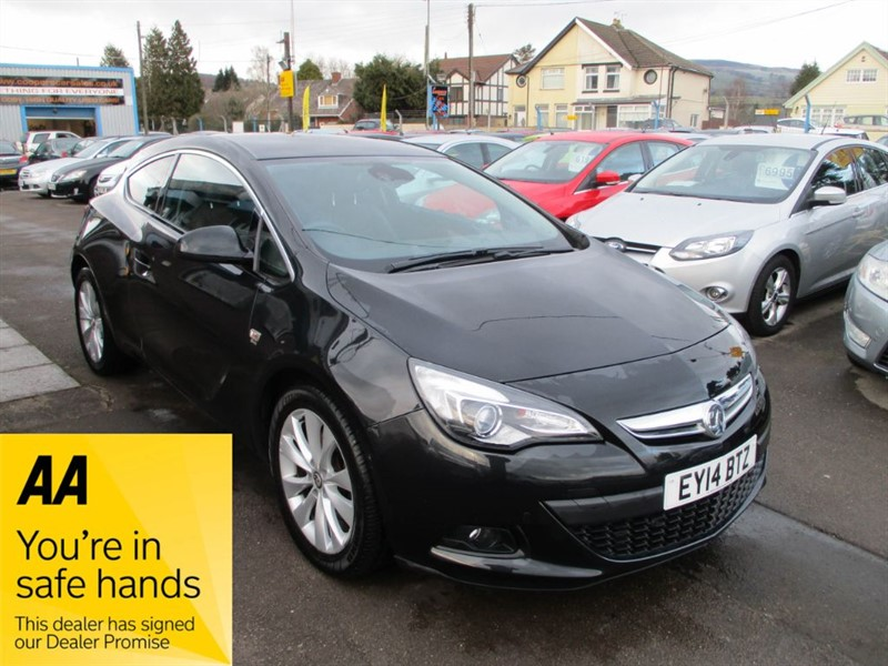 used Vauxhall Astra GTC SRI S/S in gwent