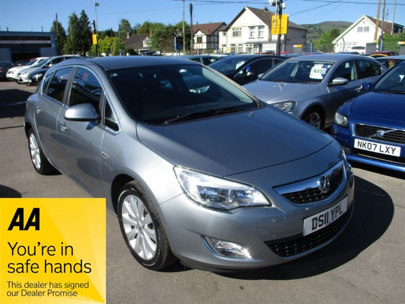 used Vauxhall Astra SE in gwent