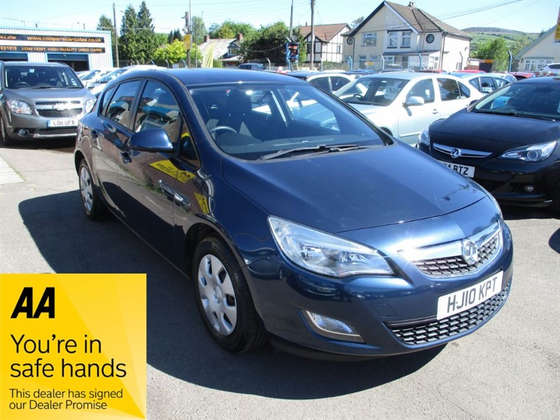 used Vauxhall Astra EXCLUSIV in gwent