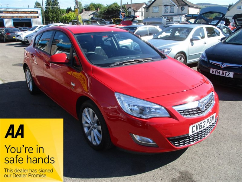 used Vauxhall Astra ACTIVE in gwent
