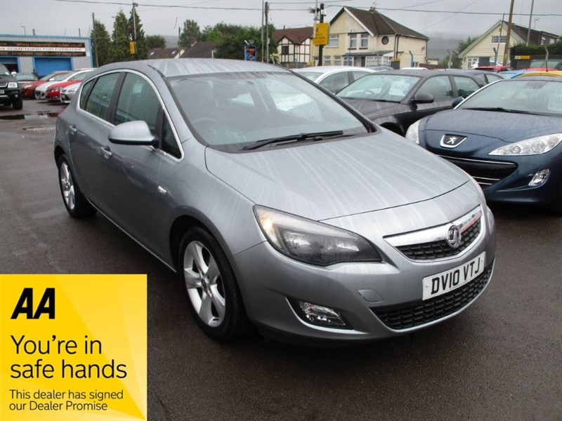 used Vauxhall Astra SRI in gwent