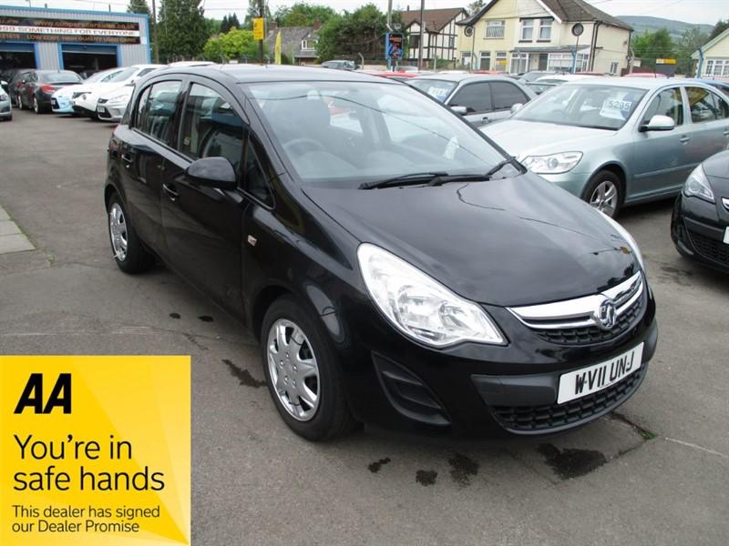 used Vauxhall Corsa EXCLUSIV AC CDTI ECOFLEX in gwent