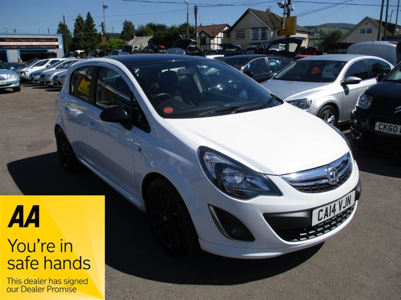 used Vauxhall Corsa LIMITED EDITION CDTI ECOFLEX in gwent