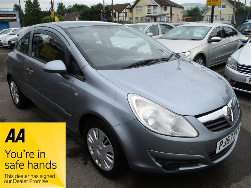 used Vauxhall Corsa CLUB 16V in gwent
