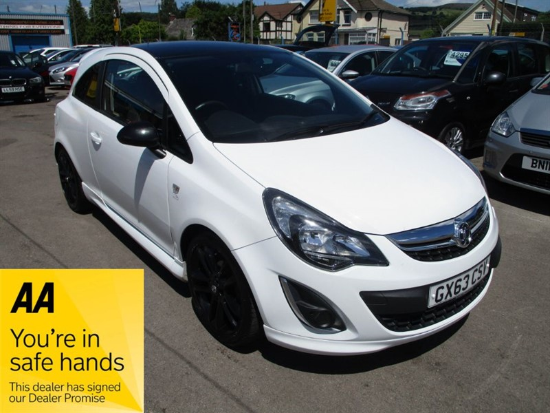 used Vauxhall Corsa LIMITED EDITION in gwent