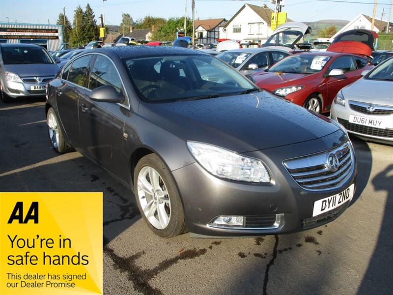 used Vauxhall Insignia SRI in gwent