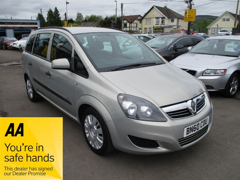 used Vauxhall Zafira LIFE CDTI ECOFLEX in gwent