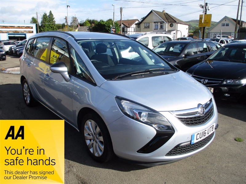 used Vauxhall Zafira Tourer DESIGN in gwent