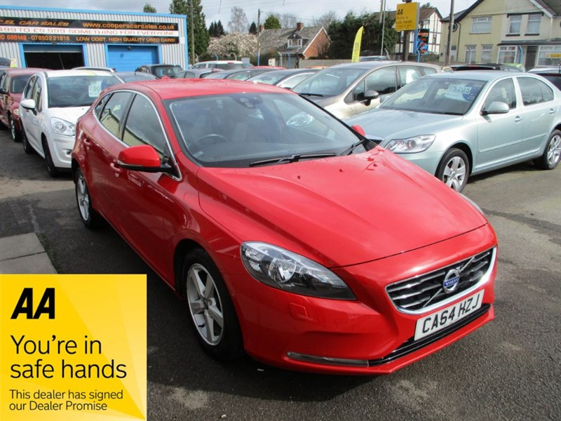used Volvo V40 D2 SE in gwent