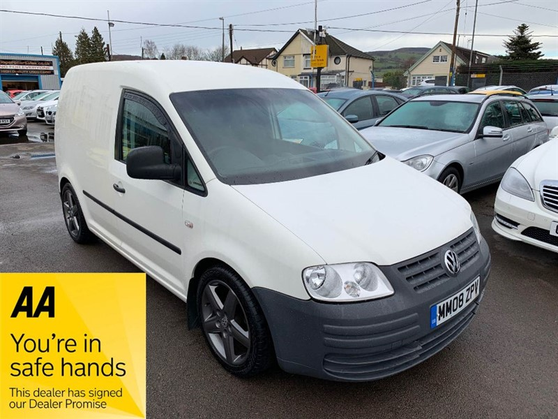used VW Caddy C20 TDI SWB in gwent