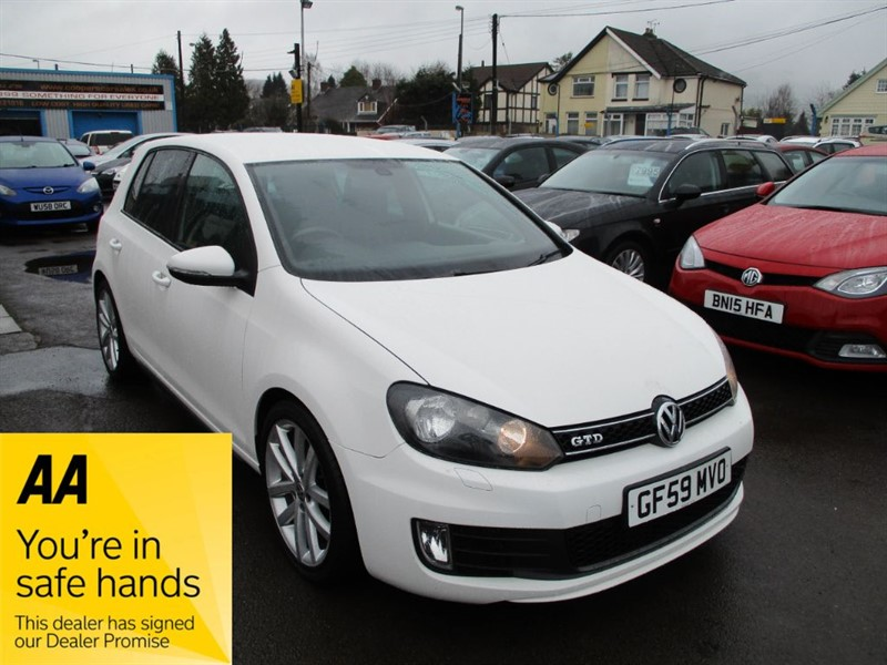 used VW Golf GTD TDI in gwent