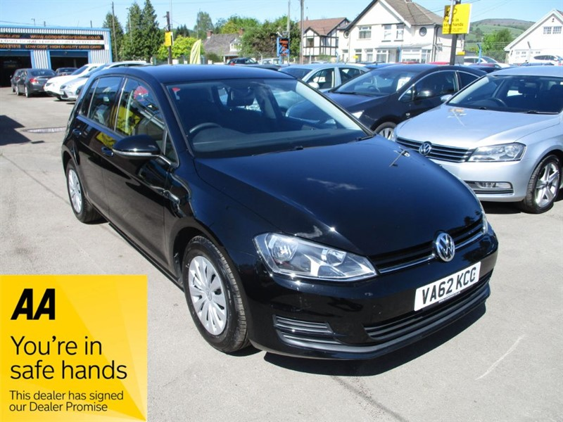 used VW Golf S TDI BLUEMOTION TECHNOLOGY in gwent