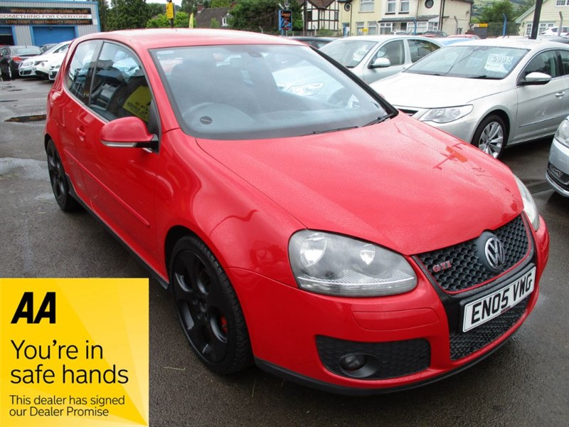 used VW Golf GTI DSG in gwent
