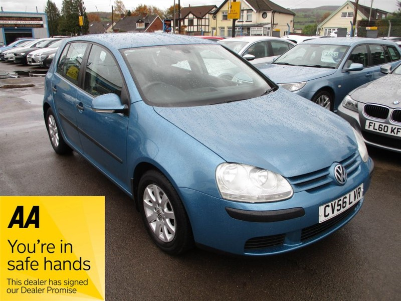 used VW Golf SE FSI in gwent