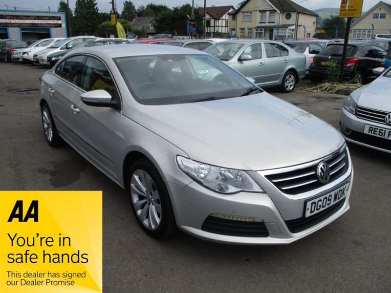 used VW Passat CC TDI in gwent
