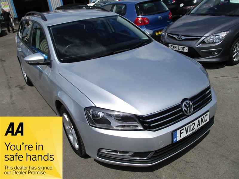 used VW Passat S TDI BLUEMOTION TECHNOLOGY in gwent