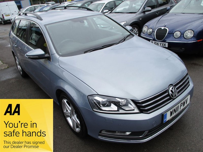 used VW Passat SE TDI BLUEMOTION TECHNOLOGY in gwent