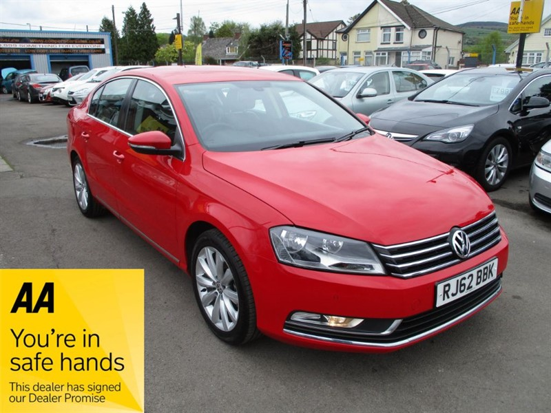 used VW Passat HIGHLINE TDI BLUEMOTION TECHNOLOGY in gwent