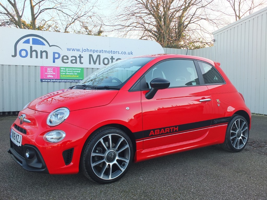 used Abarth 595 1.4 T-Jet 595 3dr Red 145