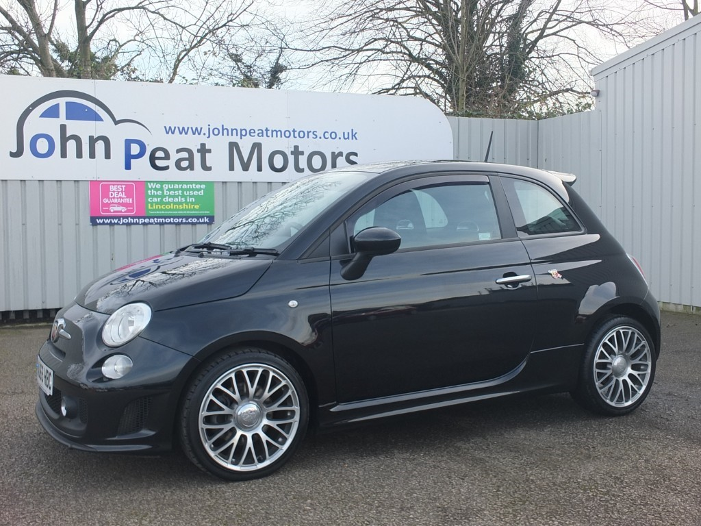 used Abarth 595 1.4 T-Jet 595 Black 140 3dr