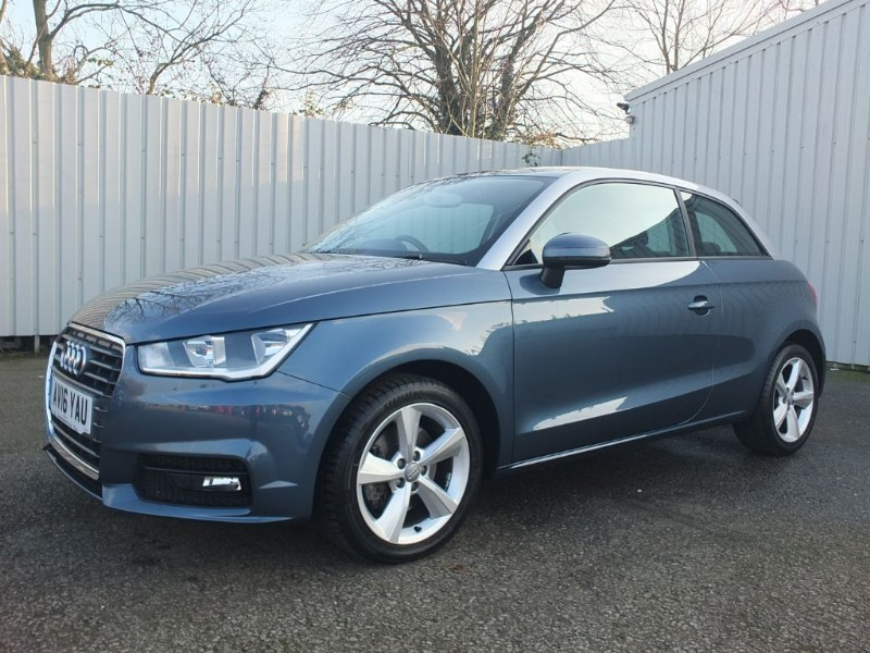used Audi A1 1.4 TFSI Sport 3dr Blue