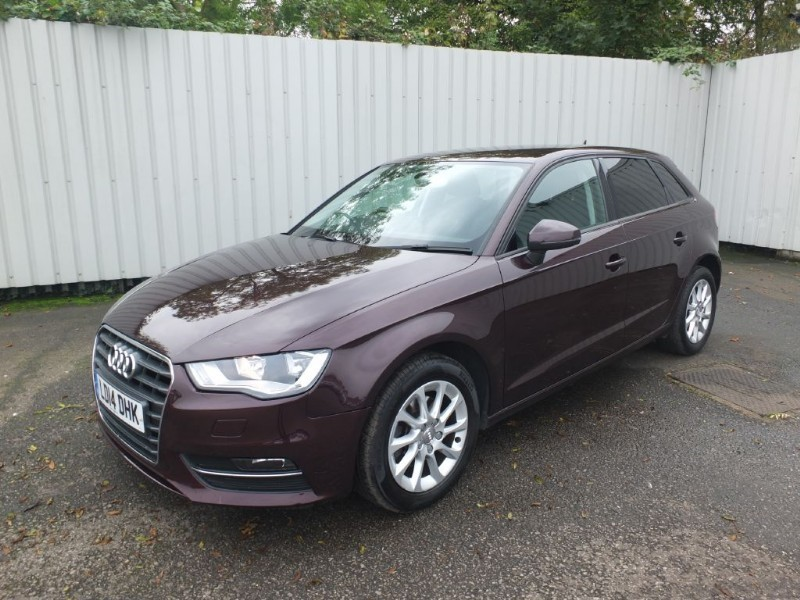used Audi A3 1.6 TDI SE 5dr Diesel Red