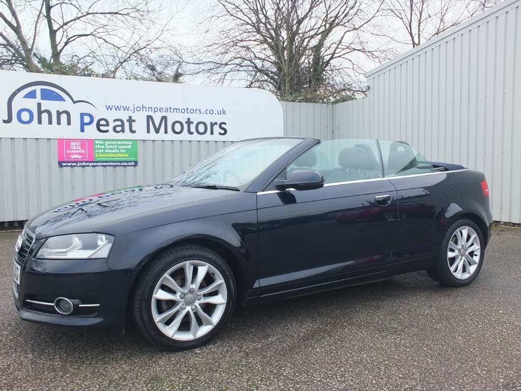 used Audi A3 2.0 TFSI Sport Convertible Automatic