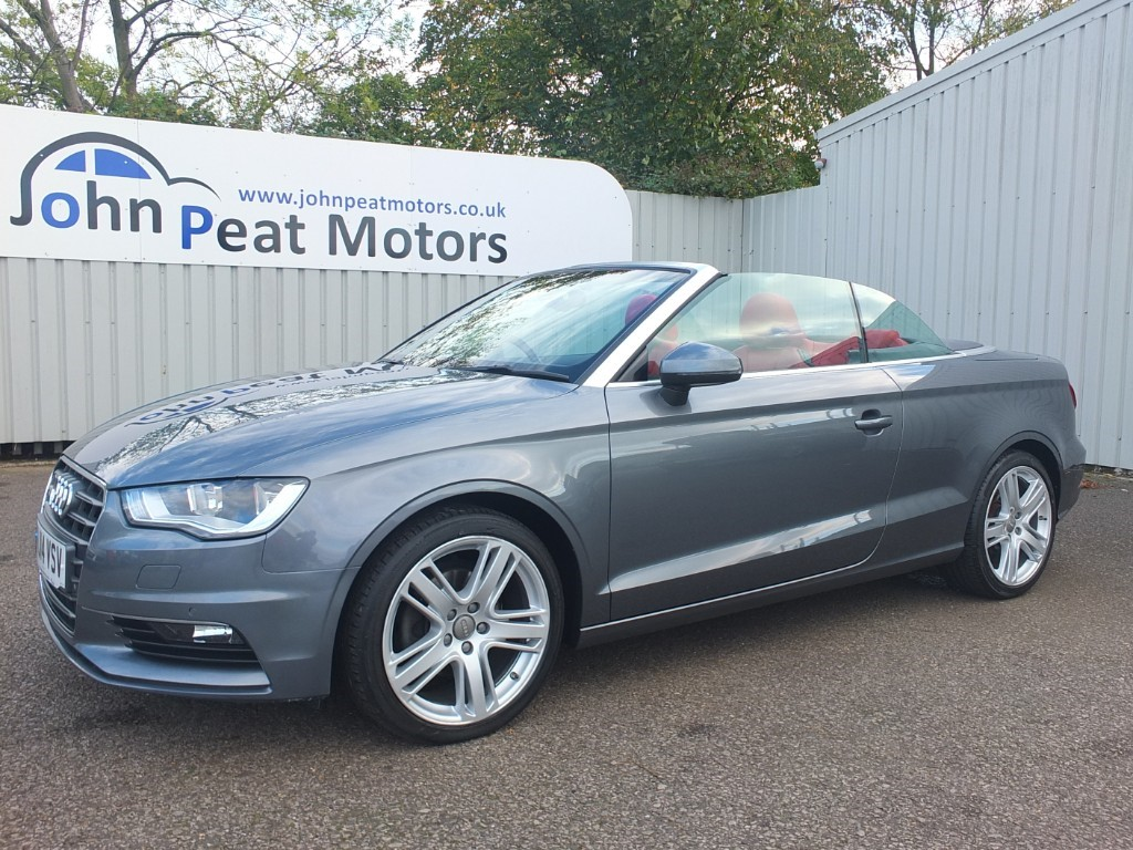 used Audi A3 2.0 TDI Sport Cabriolet 2dr Diesel Automatic
