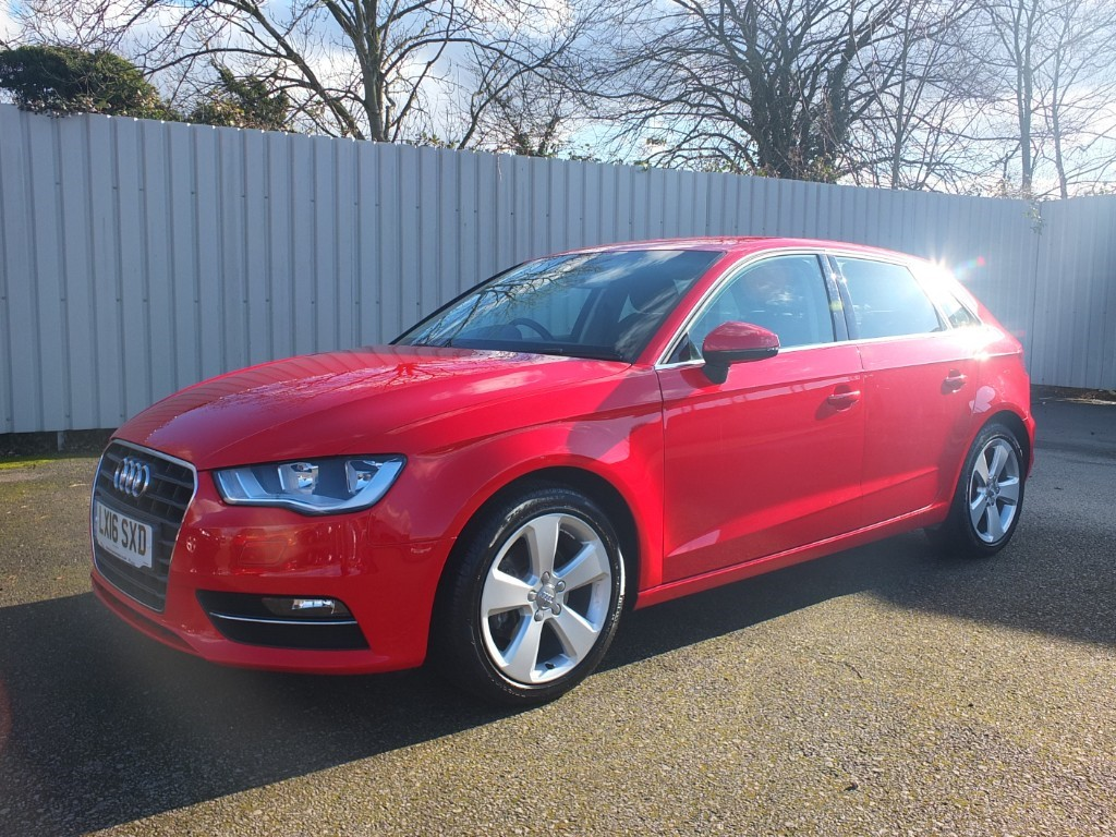 used Audi A3 1.2 TFSI Sport Nav 5dr Red