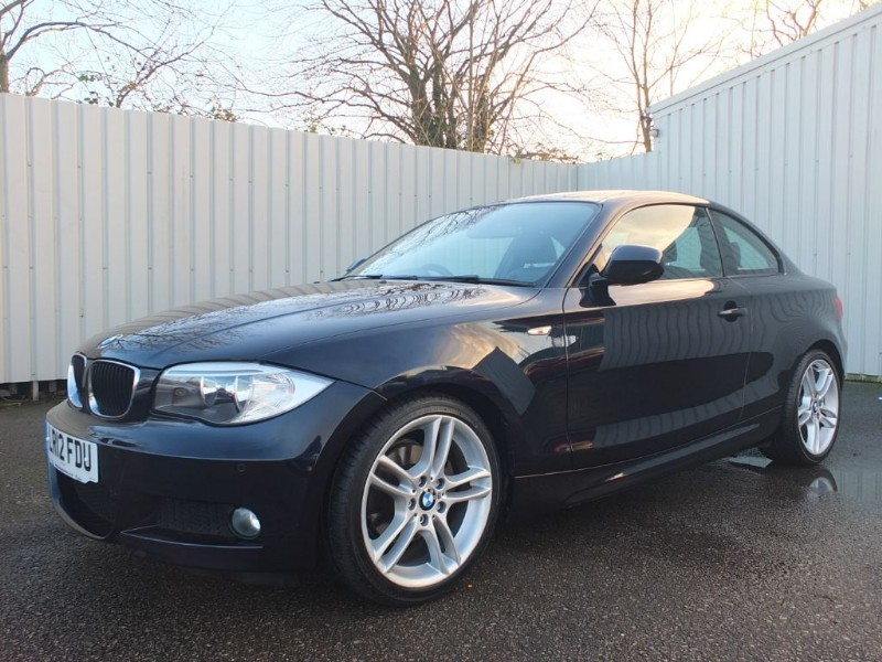 used BMW 120d 2.0 D M Sport 4dr Coupe Diesel Automatic