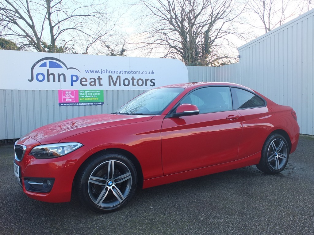 used BMW 218d 2.0D Sport 2dr Coupe Diesel