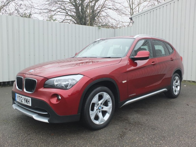 used BMW X1 2.0 D XDrive SE 5dr Diesel Red