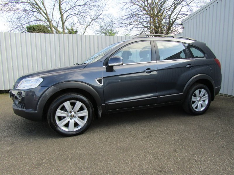 used Chevrolet Captiva 2.0 VCDI LTX 5dr Diesel Automatic 7 Seat Grey