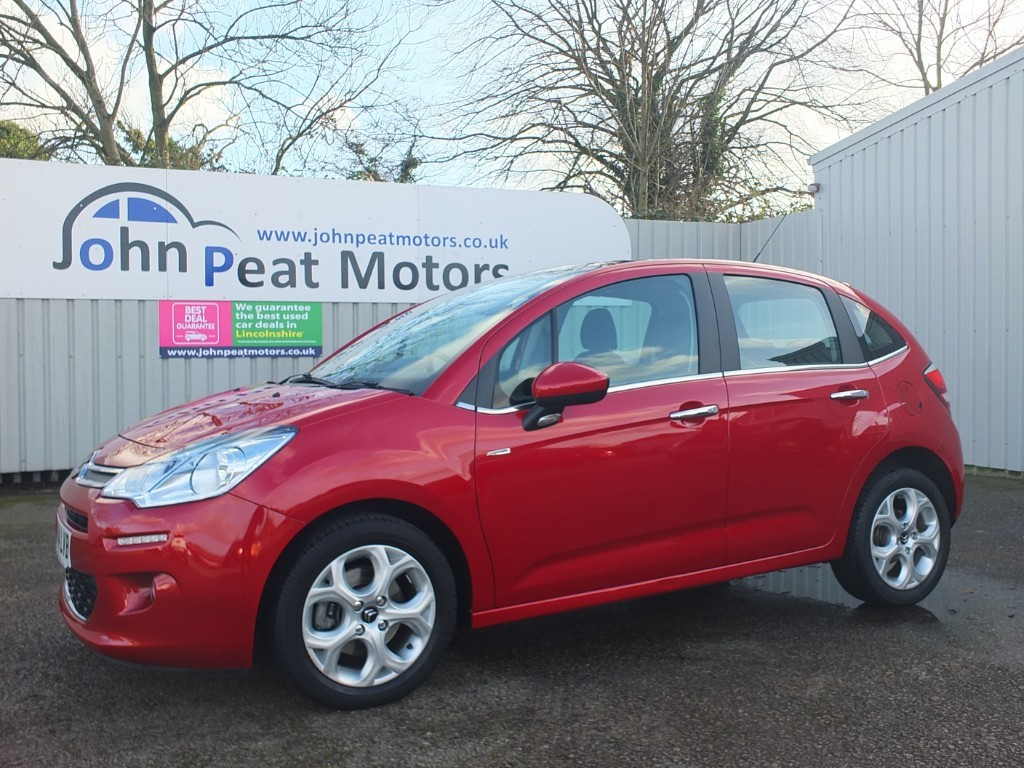 used Citroen C3 1.6 Exclusive 5dr