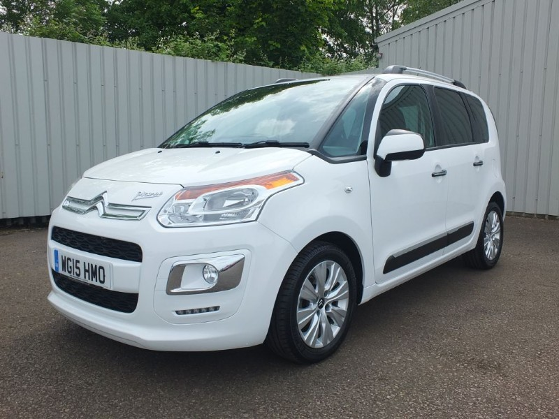 used Citroen C3 Picasso 1.6 HDI Exclusive 5dr Diesel White
